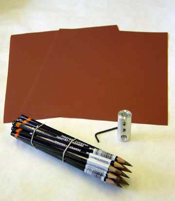 Taber Pencil Hardness Scratch Kit