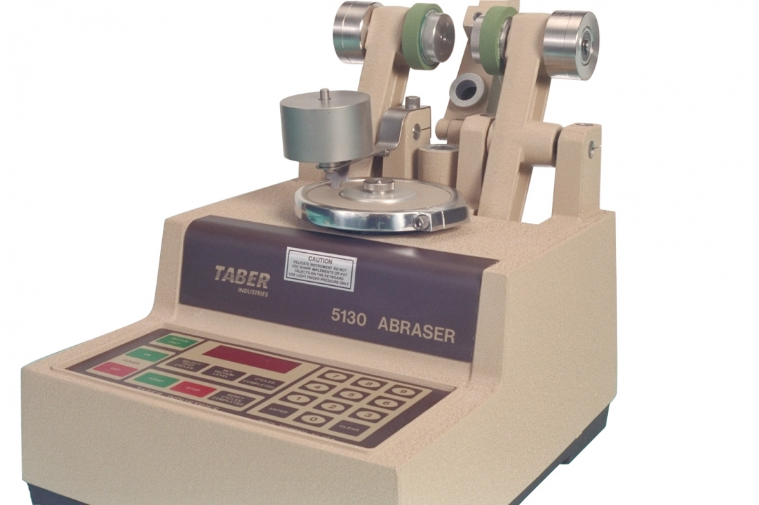 Taber Abraser with Scuffing Head Attachment