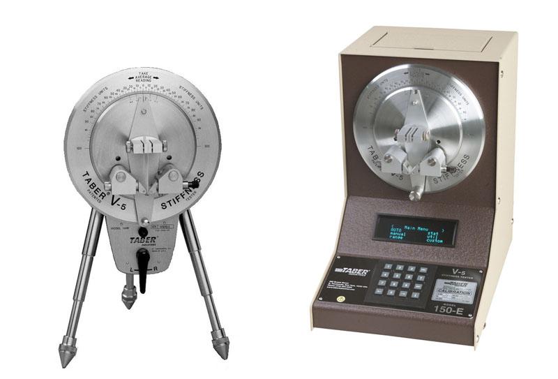Taber硬度测试仪150B(左)和150E(右)